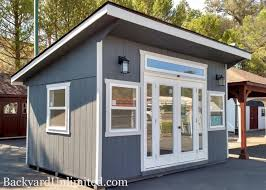 tiny house shed. Fine Shed Backyard Unlimited Offers Tiny Adaptable AmishBuilt Structures  Tiny  House Blog To Shed