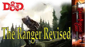 Ranger D D 5e D D Unearthed Arcana Review The Ranger Revised