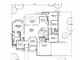 bedroom one story house plans home building 80114