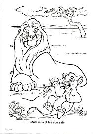 Lion King Coloring Page Print Lion