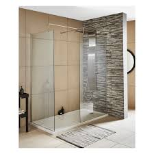 Hydrolux Walk In Shower Enclosure 8mm 1200 x 800mm 1 x 800 & 1 x 700