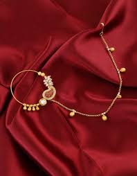 Gold Nose Ring Designs For Bridal Stylish Designs Of Bridal Nose Ring Significance In Indian