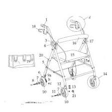 similiar drive medical rollator replacement parts keywords lumex walker replacement parts car parts and wiring diagram images