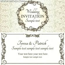 Wedding Invitation Templates Downloads Free Wedding Invitation Samples Guluca