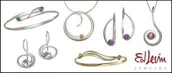 ed levin jewelry with stones