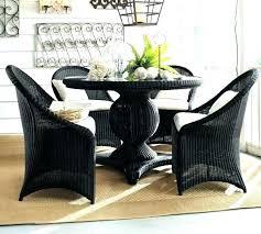 black dining room table pottery barn. black oval dining table round pedestal pottery barn palmetto all room a