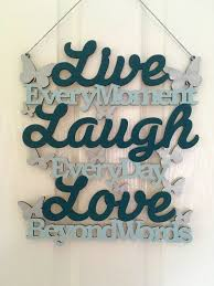 Quote Plaques Impressive Home Decor Quote Plaques Teal Duck Egg Blue Wall Art By