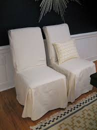 slipcovered parsons dining chairs slipper chair cover parsons chair slipcovers