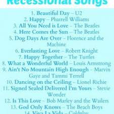 wedding recessional songs. Top 20 Recessional Songs Recessional Songs Pinterest