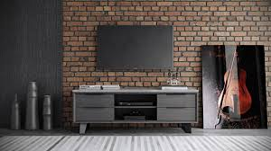 Short Media Cabinet Furniture Grey Wooden Media Cabinets With Drawers And Rack Also