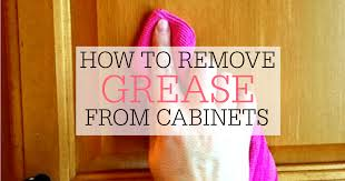 How To Remove Grease From Kitchen Cabinets Amazing How To Remove Grease From Kitchen Cabinets Frugally Blonde