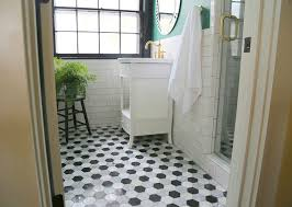 bathroom subway tile floor. Subway Tile: Always Classic, Trendy Bathroom Tile Floor