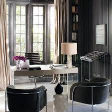 contemporary home office design. Wonderful Home Black And Grey Modern Home Office For Contemporary Design S