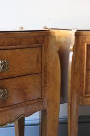 smart deco furniture. Smart Pair Of Art Deco Bedside Tables Furniture