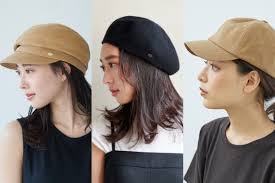 帽子のかぶり方を極めておしゃれ見え種類髪の長さ別お手本コーデ