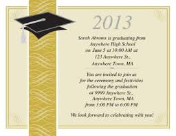 sample graduation invitations graduation ceremony template templates instathreds co