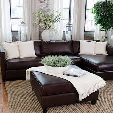 brown leather sofa living room ideas. Unique Room I Really Like The Placement Of Couch Against Window Wall With  Flower  Enneu0027s Decor In Brown Leather Sofa Living Room Ideas H