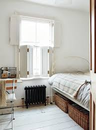 london stylist sara emslie fitted all of the windows in her tiny victorian in richmond outside