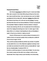 paralysis essay edith wharton s ethan frome was published during  page 1 zoom in