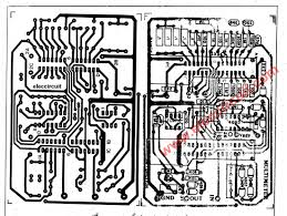 Circuit large size digital multimeter circuit using icl7107 the pcb layout and ponents optocoupler
