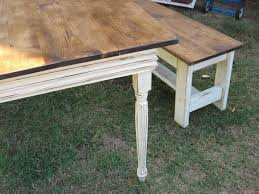 farm dining table with bench back to farmhouse table and bench from wood