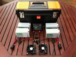 portable solar power generator components