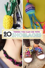 what can you make with shoelaces things you can do with shoe laces diy