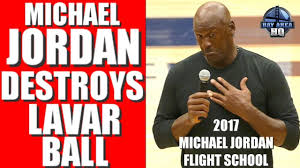 Michael Jordan vs. Lavar Ball