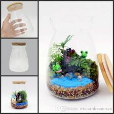 office flower pots. freedhl 43 inch glass tabletop vase terrarium micro landscape office desk decor flower pots