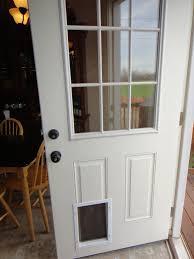 surprising sliding doors with doggie door door with doggie door thermo panel doggie door