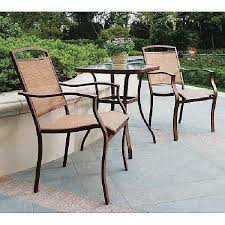 patio bistro coffee table and chairs