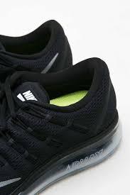 nike running shoes black air. sell womens nike air max 2016 running shoe black white sneakers | berrybenka.com shoes