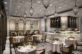 French Bistro Decor French Restaurant In Macau The Ritz Carlton Macau