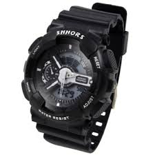 shhors raymond sports men black rubber strap watch sh 692b lazada ph shhors raymond sports men black rubber strap watch sh 692b