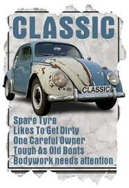 Vw Quote Mens TShirt Classic VW Beetle Funny Quote Ideal Birthday Gift 11