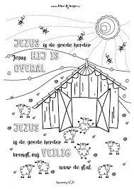 025 Jezus Is De Goede Herder Kleurversjesnl