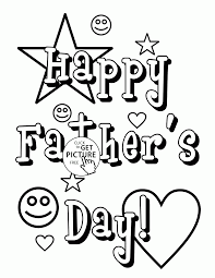 father s day card coloring page for kids happy father s day coloring pages printables free