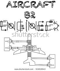 aircraft diagram stock images royalty images vectors aircraft b2 engineer text wiring diagram designed like an aircraft for printing