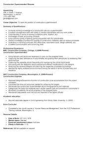 construction manager resume sample top assistant superintendent samples  management supervisor templates .