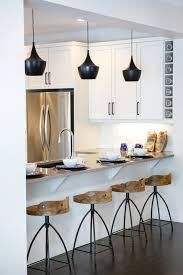 beige bar stools. Image By: Natalie Fuglestveit Interior Design Beige Bar Stools
