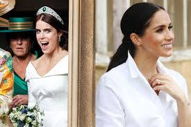 Princess diana, duchess of cambridge, duchess of sussex, princess eugenie, princess beatrice, duchess camilla, sophie wessex, sarah ferguson and more. Princess Eugenie Gives Meghan Markle Some Unexpected Instagram Support Vanity Fair