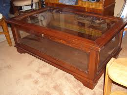 ... Teak Rectangle Traditional Varnished Wood Display Case Coffee Table  Designs With Glass Top For ...