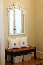narrow entryway furniture. Awesome Furniture White Wooden Narrow Entryway Bench With Shelves On Within Decor 10