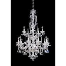 designer hanging chandelier