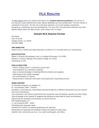 Mla Format Templates Mla Format Template 2018 Yun56co Mla Resume Template Best Cover