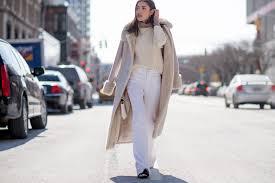 50 ways to wear white jeans in winter