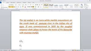 Office Word Format Font Formatting In Microsoft Office Word In Hindi