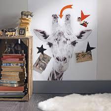 Marvelous Giraffe Printed Magnetic Wallpaper