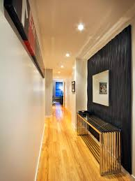 Wall accent lighting Barnwood Entryway With Black Accent Wall Metallic Console Table Diy Network 10 Things You Must Know Accent Lighting Diy
