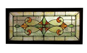 le stained glass window
